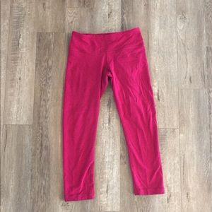 Lululemon Pink Capris